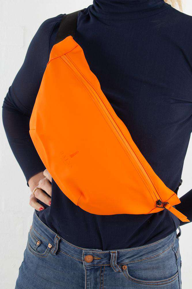 Bum Bag - Fire Orange - Rains - Orange One Size