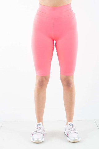 Cykelshort indershorts Jilo shorts Neon Pink fra Moves by Minimum