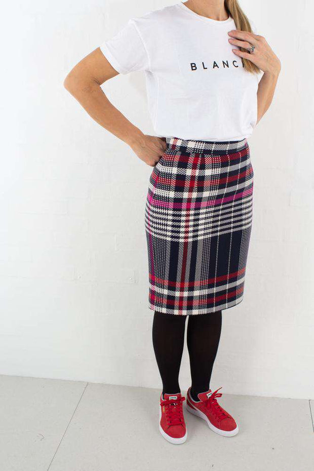 Ine Skirt - Multi fra BLANCHE - outfit