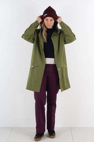 Long jacket - Sage fra Rains journal