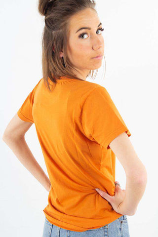 Light Organic Tee - Burned Orange fra Colorful Standard