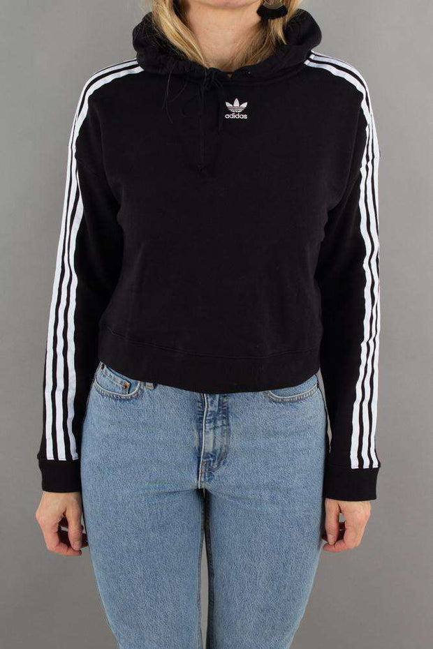 Cropped Hoodie CY 4766 - Black - Adidas Originals