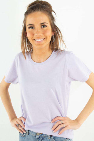 Light Organic Tee - Soft Lavender fra Colorful Standard