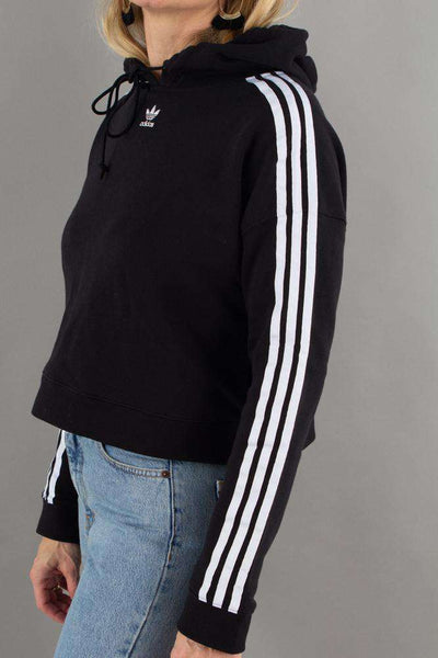 Cropped Hoodie CY 4744 - Black fra Adidas Originals 3