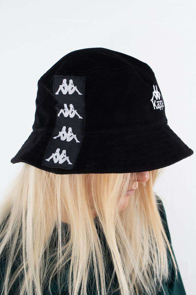 Image of   Authentic Ayumen Bucket hat - Black/white - Sort onesize