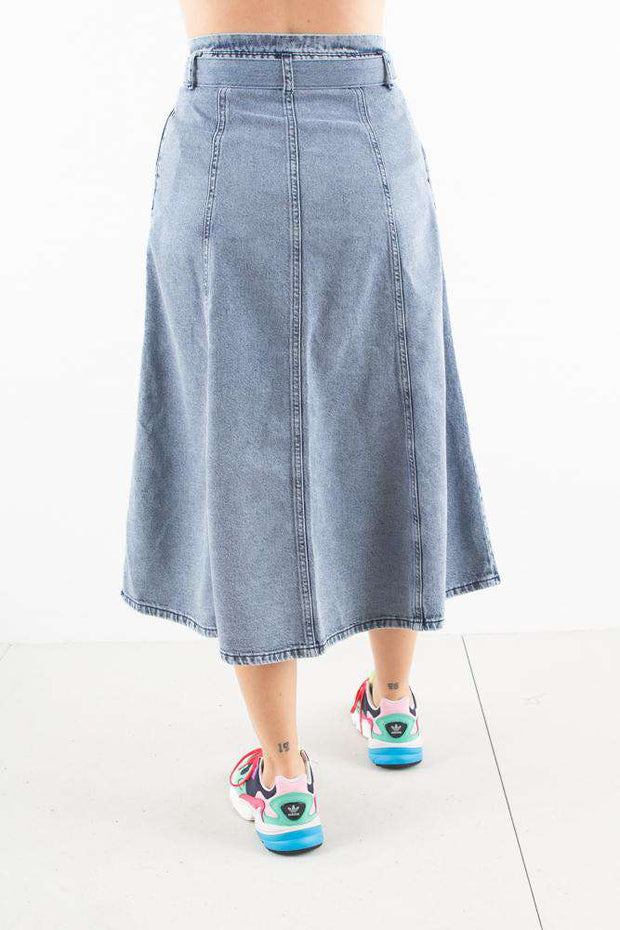 PiettaGZ Skirt - Sky Blue - Gestuz 2