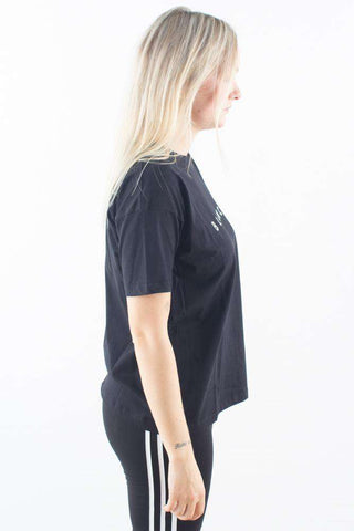 sort tshirt basic Main Contrast Black Blanche
