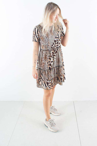 Milani leopard kjole dress Bone Moves By Minimum