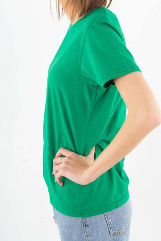 Light Organic Tee - Kelly Green Colorful Standard