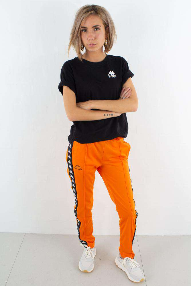 Image of   Kappa Banda Astoria Snaps Slim - Orange/Black - Orange M
