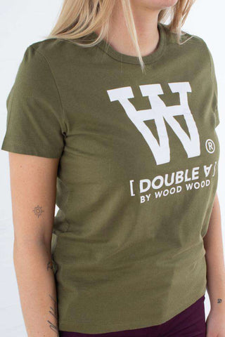 Uma T-shirt - Green fra Wood Wood