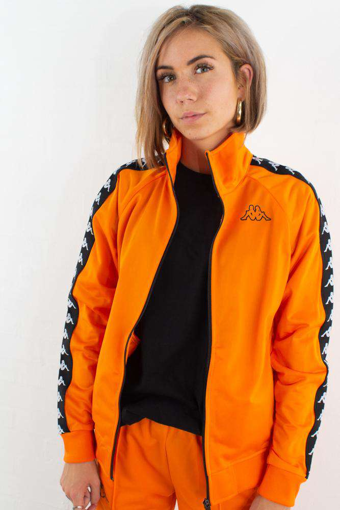 Image of   Banda Anniston Track Jacket - Orange/Black - Orange XS