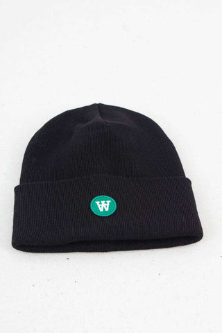 Gerald tall beanie - Sort fra Wood Wood