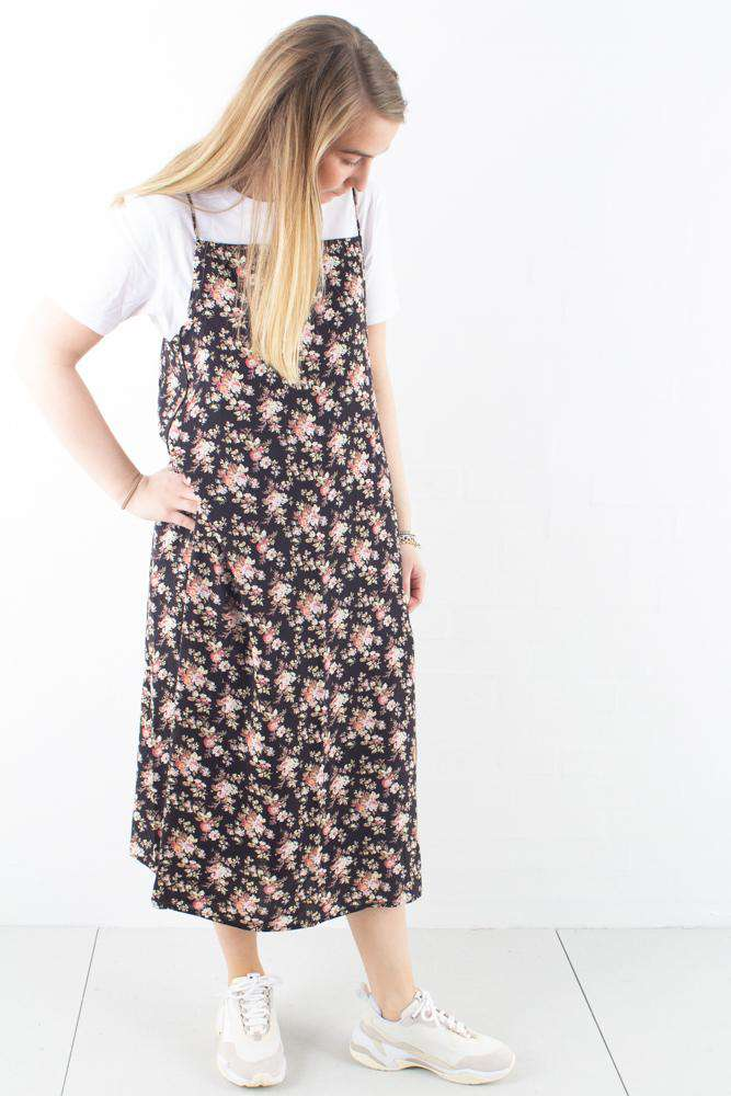 Summer Dress – Black Flower – Han Kjøbenhavn – XS