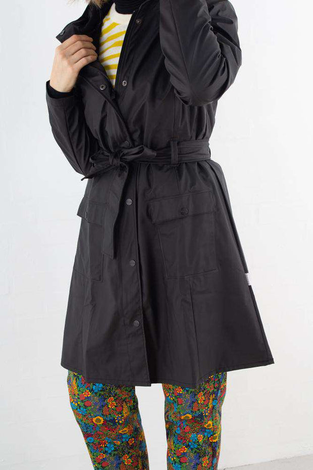 Curve Jacket - Sort - Rains