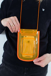 Beach Wallet Transparent - Orange fra Nunoo