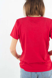 Light Organic Tee - Scarlet Red