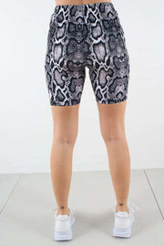 Edit website SEO Snake Print Cyckling Shorts fra NA-KD 2