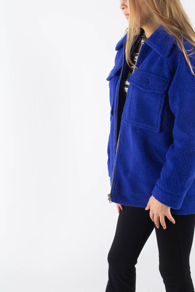 Papaya Jacket - Electric blue - Résumé Qnts