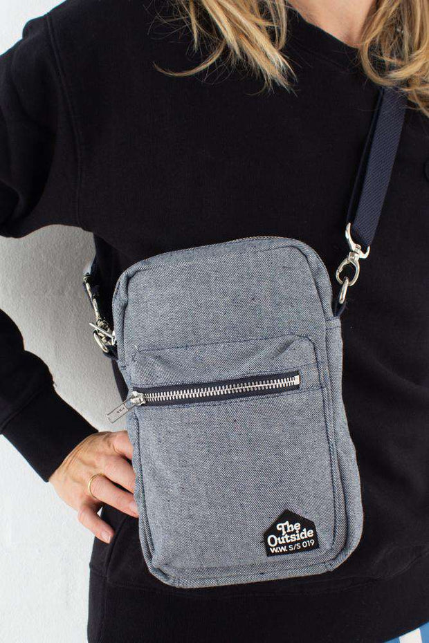 Rena Shoulderbag -  Indigo rinse fra Wood Wood model
