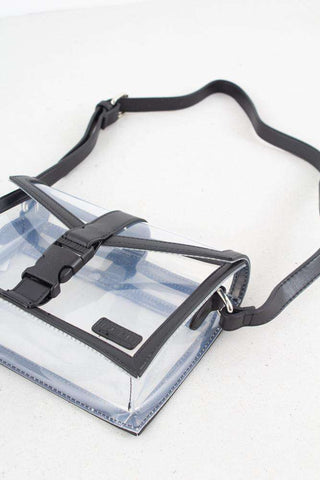 Black Transparent crossbody Bag fra Astrid Olsen x NA-KD 2