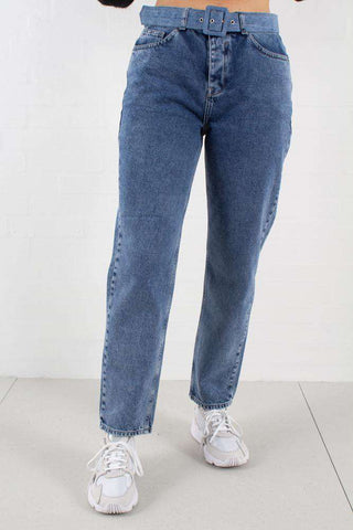 Brenda Jeans - Belted Blue Hills fra 2nd One 1