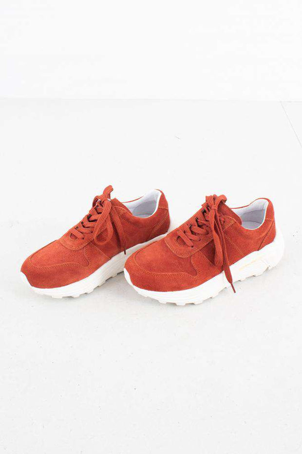 Bailey Runner - Burned Orange Suede - Garment Project