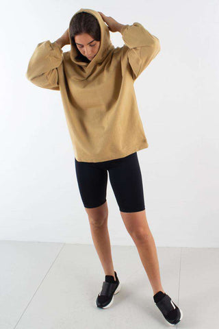 Thiuana Hoodie i Moon Rock fra Moves By Minimum