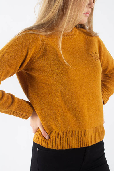 Asta Sweater -Mustard - Wood Wood Qnts