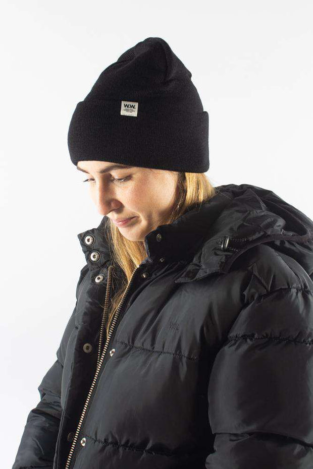 Gerald Tall Beanie Black sort hue Wood Wood 1