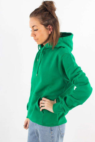 Classic Organic Hood - Kelly Green fra Colorful Standard