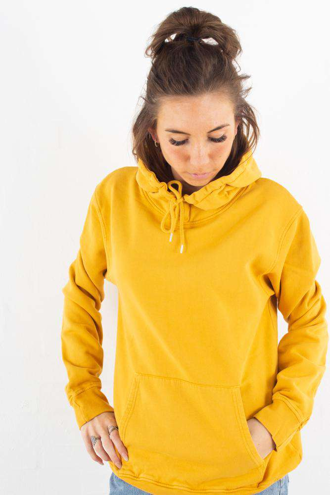 Image of   Classic Organic Hood - Burned Yellow - Gul L
