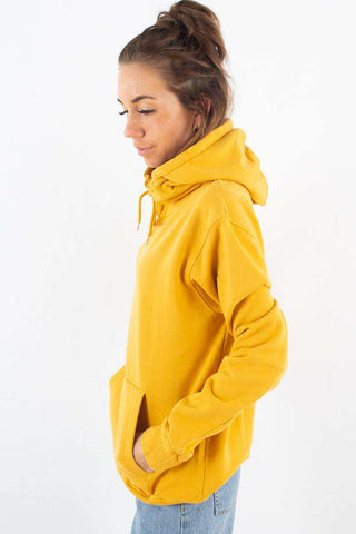 Classic Organic Hood - Burned Yellow fra Colorful Standard