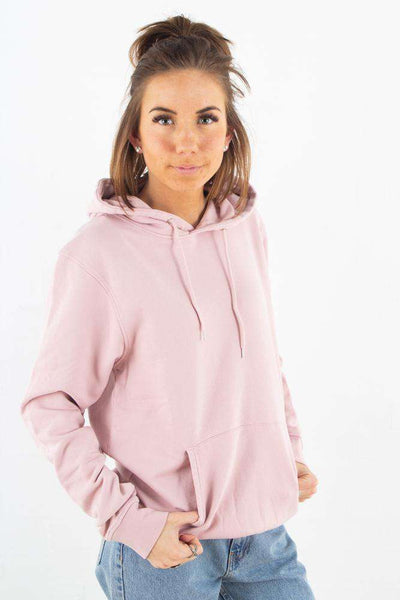 Classic Organic Hood - Faded Pink fra Colorful Standard