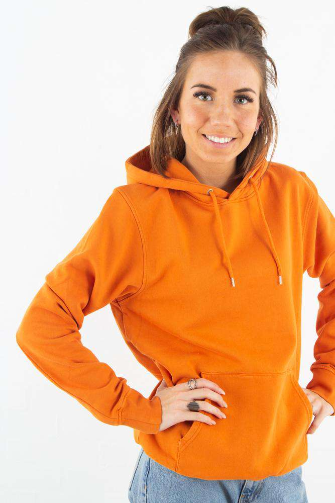 Image of   Classic Organic Hood - Burned Orange - Orange XS