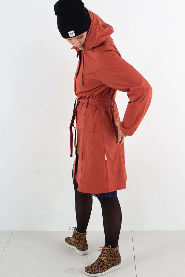 Curve Jacket - Rust - Rains