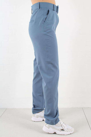 Kaia Belted Bluestone - Pants fra 2nd One 1