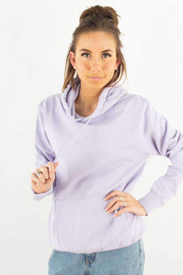 Classic Organic Hood - Soft Lavender - Colorful Standard