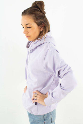 Classic Organic Hood - Soft Lavender fra Colorful Standart