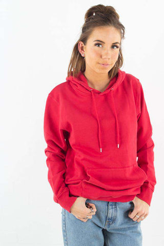 Classic Organic Hood - Scarlet Red fra Colorful Standard 1