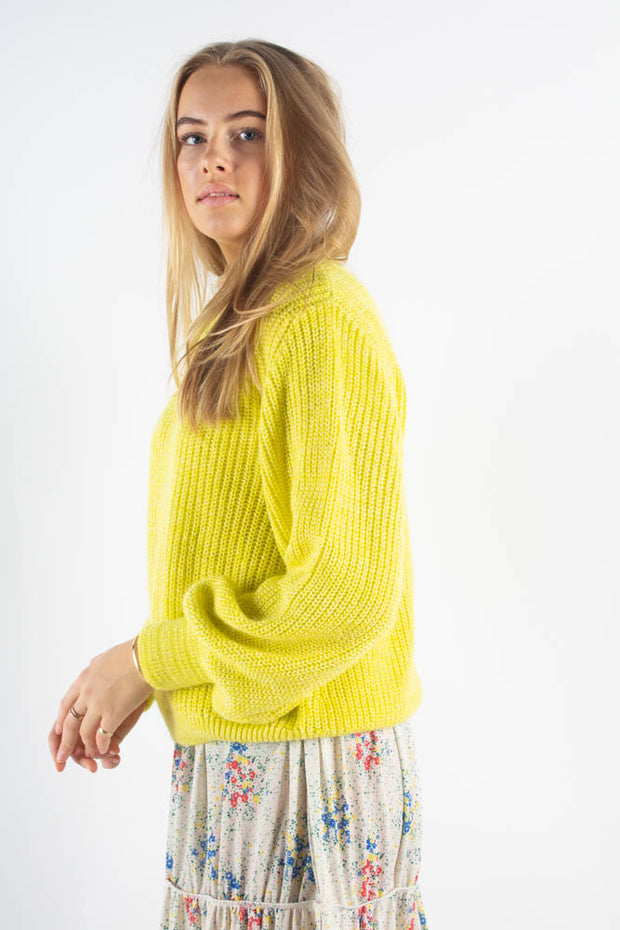 Mohair Jam Kashma - Cool Yellow - Mads Nørgaard Qnts