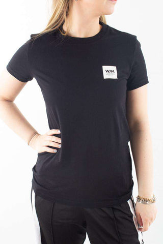 Eden T-shirt - Black - Wood Wood