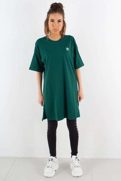 Trefoil Dress - Green fra Adidas Originals