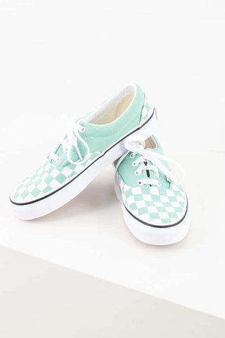 Era Checkerboards - Neptune green - Vans