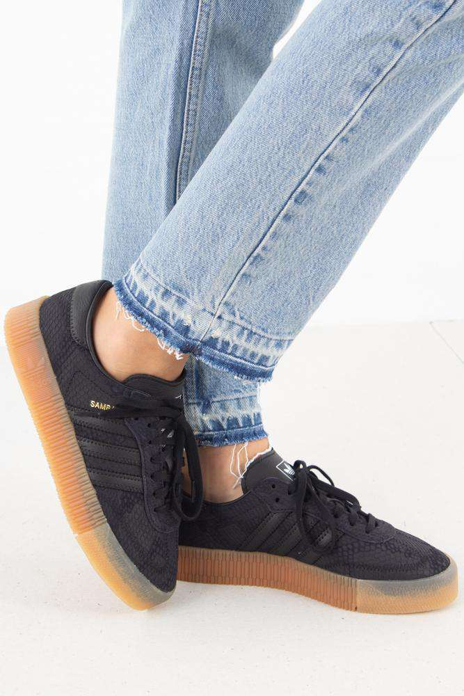 Sambarose W B28157 - Core Black - Adidas Originals - Sort 36
