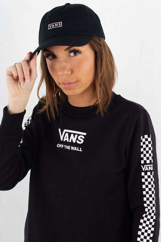 Vans Curved Bill Jockey - Black fra Vans