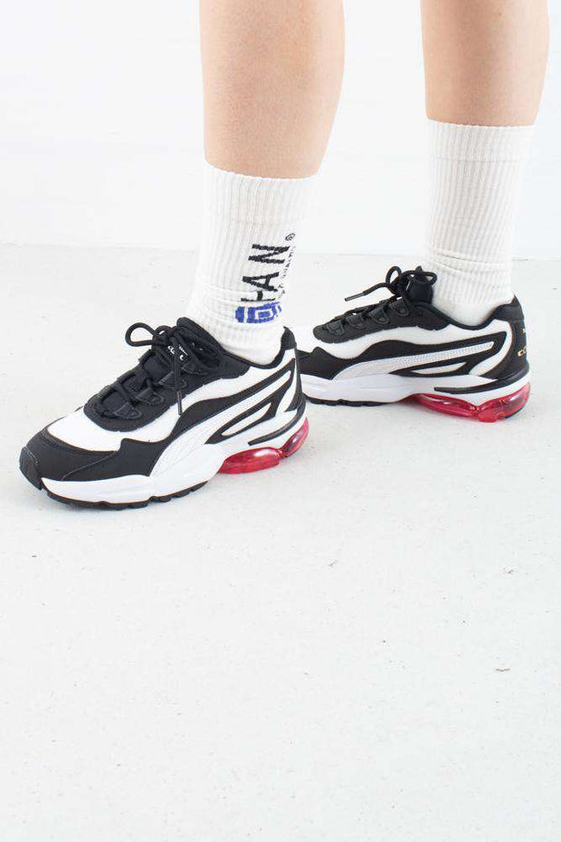 Cell Stellar White/Black hvid sort Puma
