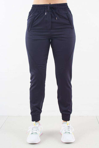 Navy Gloss Miley Pants fra 2ND ONE