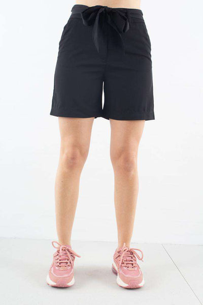 Kaia Shorts i Black Tie fra 2ND ONE