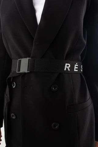 Pan Belt - Black - Résumé